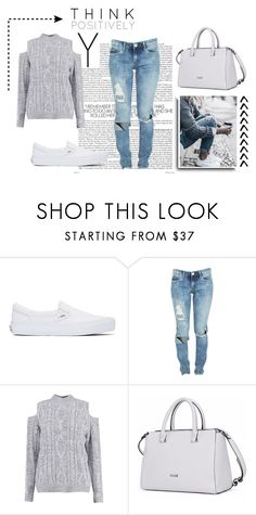 """""""154"""" by anadutra ❤ liked on Polyvore featuring Vans, BLANKNYC and Boohoo"""