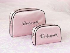 Bridesmaid travel bags