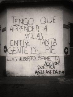 ¡A volar mi amor! #Acción Poética Avellaneda #accionpoetica