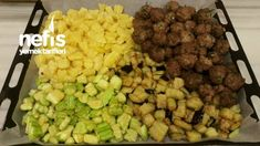 Fırında Misket Köfteli Türlü - Nefis Yemek Tarifleri Iftar, Salsa, Grains, Rice, Food, Essen, Salsa Music, Meals, Seeds