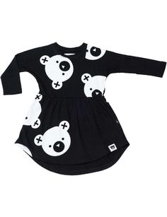 Big Falling Bears Swirl Dress   David Jones
