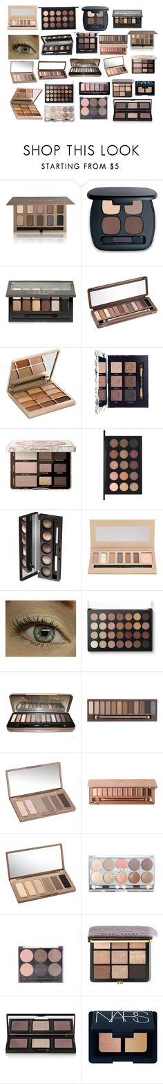 """""""#ontrend: Neutral Eyeshadow"""" by daisychainsxoxo ❤ liked on Polyvore featuring beauty, Stila, Bare Escentuals, Maybelline, Urban Decay, Tory Burch, Too Faced Cosmetics, MAC Cosmetics, Laura Geller and Barry M"""