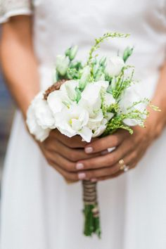 Posy style bouquet: http://www.stylemepretty.com/destination-weddings/2015/05/06/elegant-argentinian-wedding-inspiration/ | Photography: Amy Fanton - http://www.fantonphotography.com/