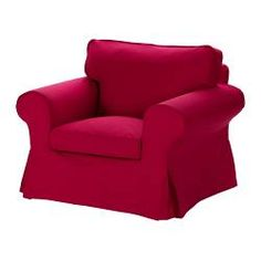 EKTORP Chair cover - Idemo red - IKEA
