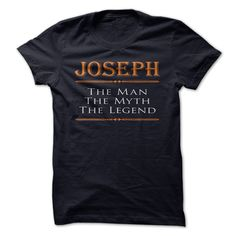 Joseph - The man - The Myth - The Legend. If you are Joseph or loved one. Then this is perfect T-Shirt for you. ** If you dont like this Tshirt, please use the Search Bar on the top right corner to find the best one for you. Simply type the key **