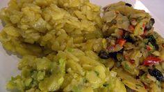 Kartoffelsalat mit Kräutern und Zwiebeln