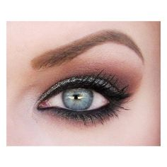 Eye makeup for blue eyes found on Polyvore