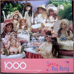 Springbok 1000 pc THE DOLLS' TEA PARTY Jigsaw Puzzle - COMPLETE Listing in the 1000 Pieces,Jigsaws,Jigsaws & Puzzles,Toys & Hobbies Category on eBid United States | 135634080