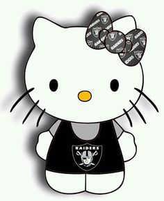 hello kitty raiders   Hello Kitty Raider Style   Raiders Baby