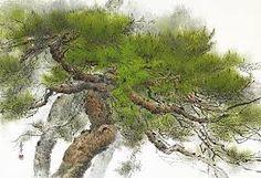 관련 이미지 Chinese Painting, Pine Tree, Ink Painting, Great Artists, Oriental, Korea, Japanese, Watercolor, Traditional
