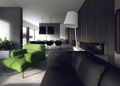 Projekt wnetrz domu jednorodzinnego, torun | Tamizo Architects
