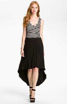 Loveappella Faux Two Piece Maxi Dress (Petite) available at Nordstrom