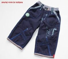 cool pants....pattern by Ottobre  embroidery Kunterbuntdesign.de  sewing for boys