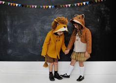 Ragazzi fantastico piccolo Fox cappotto di littlegoodall su Etsy