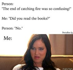 Lol haha funny pics / pictures / Hunger Games Humor / Catching Fire / Jennifer Lawrence