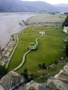 A view of Jarral Shaheed Park in Swat, Pakistan