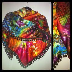 Satijnen sjaal Pip 54,95