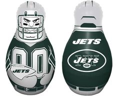 New York Jets Tackle Buddy Punching Bag Z157-2324595739