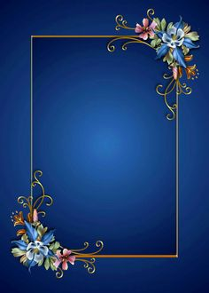 Floral on blue. This would make a striking gift tag if you write on it with a white paint pen. Studio Background Images, Flower Background Wallpaper, Photo Background Images, Flower Phone Wallpaper, Frame Background, Backgrounds Free, Flower Backgrounds, Wallpaper Backgrounds, Background Images Wallpapers