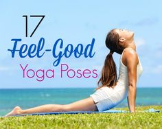 These 17 yoga poses will make you feel awesome and balanced on your mat, stand up paddleboard, or Indo Board this summer!  #workout