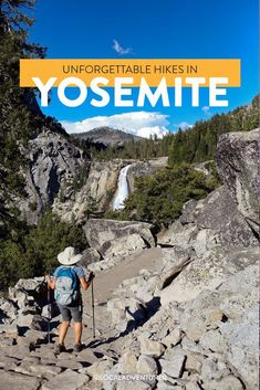 Top Yosemite Trails You Don't Want to Miss // Local Adventurer Miss California, California National Parks, Us National Parks, California Travel, Yosemite Hiking, Yosemite Falls, Hiking Trails, California Tourist Attractions, California Destinations