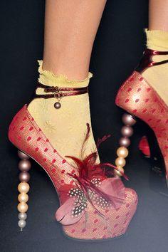 john galliano shoes 2009 - Google Search