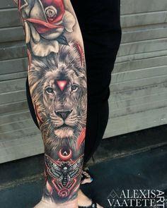 Amazing Animal Tattoo Design Idea