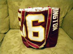re-use old football jerseys by kelly crooker, 2008