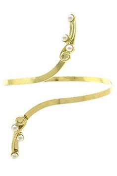 PEARL ENCRUSTED TIP Arm Cuff Bracelet / AZMIAB390-GPL Arras Creations http://www.amazon.com/dp/B0162YE2YW/ref=cm_sw_r_pi_dp_S7Ouwb05HY63Z