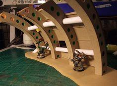 View topic - Has anyone made shipbreaking terrain? Warhammer 40k Tabletop, Warhammer Paint, Warhammer Terrain, Warhammer 40000, Game Terrain, 40k Terrain, Wargaming Terrain, Warhammer Imperial Guard, Alien Plants