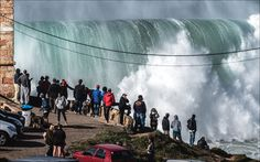 Monster Waves Roll Into Nazaré, Providing Surfers With One Of The Most Dangerous Swells In Sport