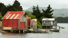 Image result for boat sheds new zealand Boat Shed, Sheds, New Zealand, House Design, Cabin, Boathouse, House Styles, Buildings, Houses
