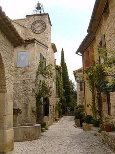 Seguret Vaucluse Plus beaux village de France