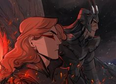 Sauron(Mairon) and Melkor\ By Phobs