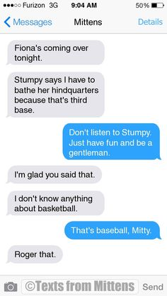 NEW Daily Mittens: The Baseball Edition  More Mittens: http://textsfrommittens.com/  Order the Mittens book: http://www.amazon.com/Texts-From-Mittens-Unlimited-Afraid/dp/0373893221