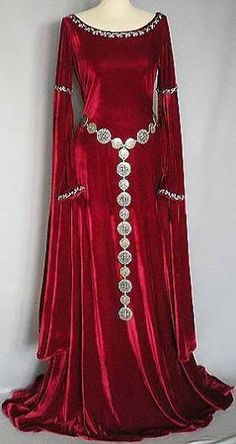 Image result for red gothic dress