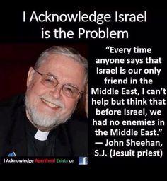 Antes de la existencia de Israel, EUA no tenia enemigos en el Medio Oeste