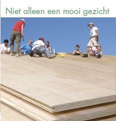 Dakpannen vloerplanken underlayment. Vraag aan bij www.woodonline.nl en ontvang offertes van houthandel
