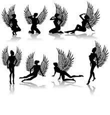 Резултат с изображение за angel tattoo