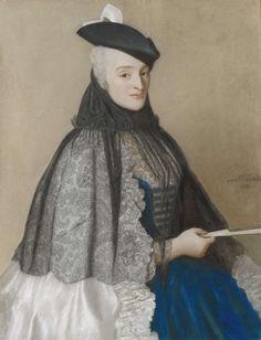 Portrait of Madame Boère, by Jean-Etienne Liotard, 1746