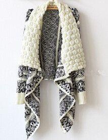 Autumn and Winter Cardigan Fashion Women Sweater Women Big Casual Knitting Sweater Women