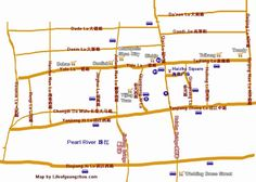 Guide to some of the bigger wholesale shopping markets in Guangzhou, China: Wholesale Markets around Haizhu Square and Yide Lu