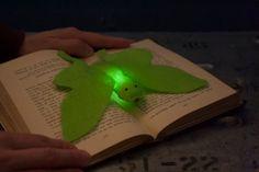 SALE!  10% OFF luna moth light-sensitive e-textiles kit