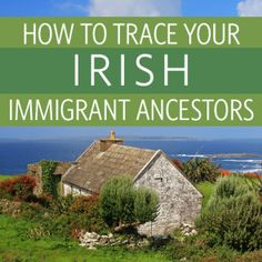 Tracing Your Irish Immigrant Ancestors Web Seminar Download