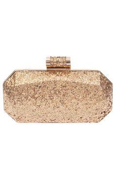 Gold Glitter Box Clutch Fall Accessories, Shop Till You Drop, Tray, Gold Glitter, Sparkle, Home Decor, Box, Homemade Home Decor, Snare Drum