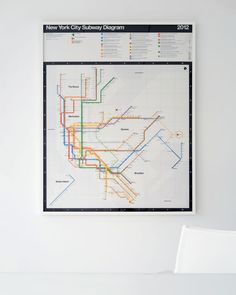 Gorgeous Limited-Edition NYC Subway Posters From the Transit Map's Late Designer