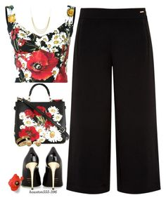 """Poppies!"" by houston555-396 ❤ liked on Polyvore featuring Dolce&Gabbana, Ted Baker, Tom Ford, Marco Bicego and Betsey Johnson"