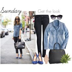 """Sunday outfit"" by klasstyle on Polyvore"