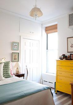 A tiny Upper East Side gem. See the full apartment tour on Design*Sponge: http://www.designsponge.com/2013/10/a-tiny-upper-east-side-gem.html