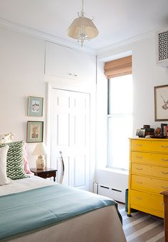A tiny Upper East Side gem. See the full apartment tour on Design*Sponge: http://www.designsponge.com/2013/10/a-tiny-upper-east-side-gem.html